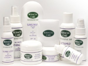 rosacea care - skin care for sensitive rosacea skin types