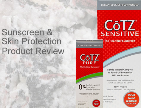 Rosacea Skin Care – Product Review CoTZ Sunscreen Skin Protection