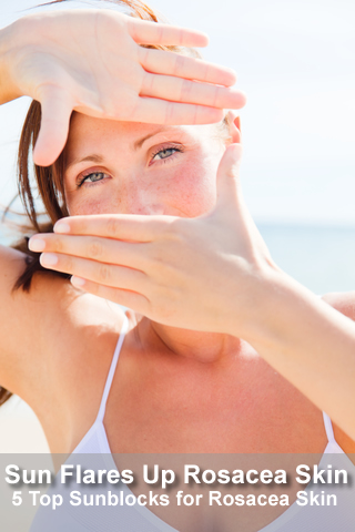 sun is a top trigger for rosacea - 5 top reviewed rosacea sunscreens